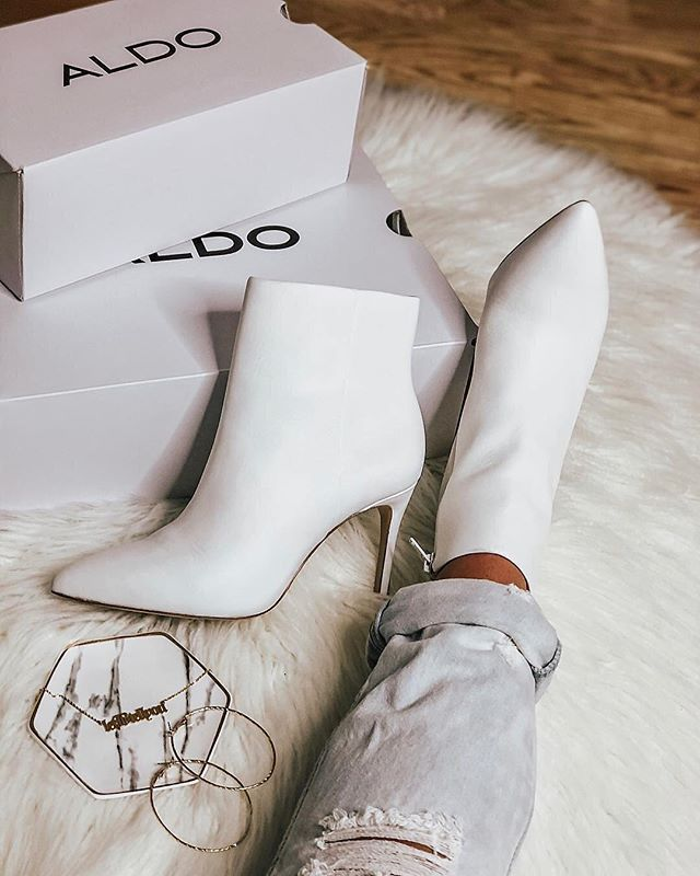 7243a86df7a0 White Ankle Boots - Aldo Shoes