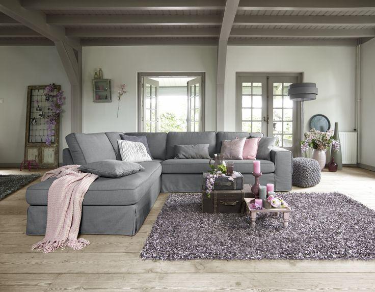 Velice hoekbank met chaise longe hoek banken pinterest living rooms - Hoek sofa x ...