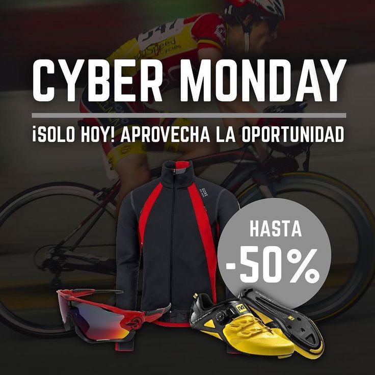 Olvidaste comprar ese complemento que necesitas para el próximo Fin de Semana? Aprovecha nuestro Cyber Monday! SOLO HOY Link en bio  #bicicleta #road #ciclismo #biker #bikerlife #ride #carretera #cycling #lifestyle #cyclingexperience #roadbike #cybermonday