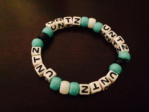 Untz Untz Untz Untz Kandi Bracelet by KandilandUSA on Etsy