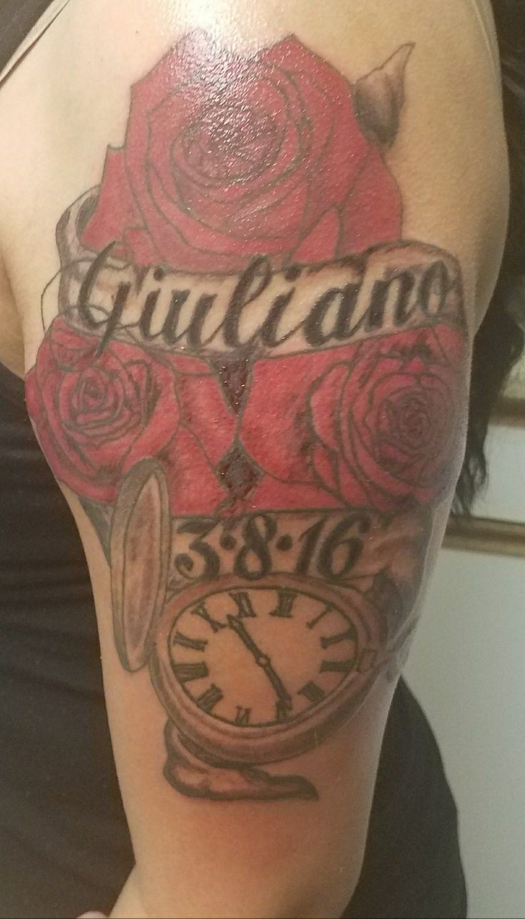 25 best ideas about sons name tattoos on pinterest for Birthday tattoo ideas