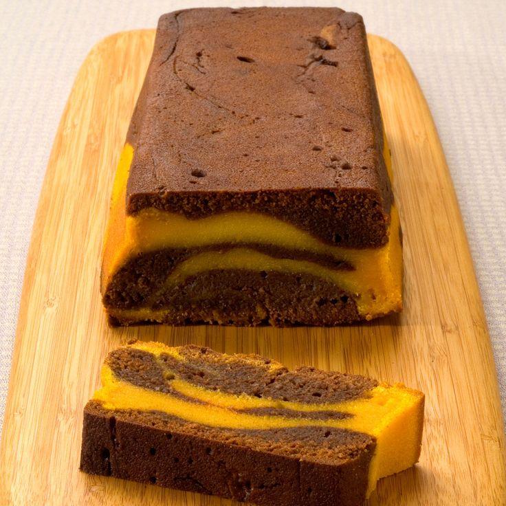 Découvrez la recette du cake chocolat et potiron