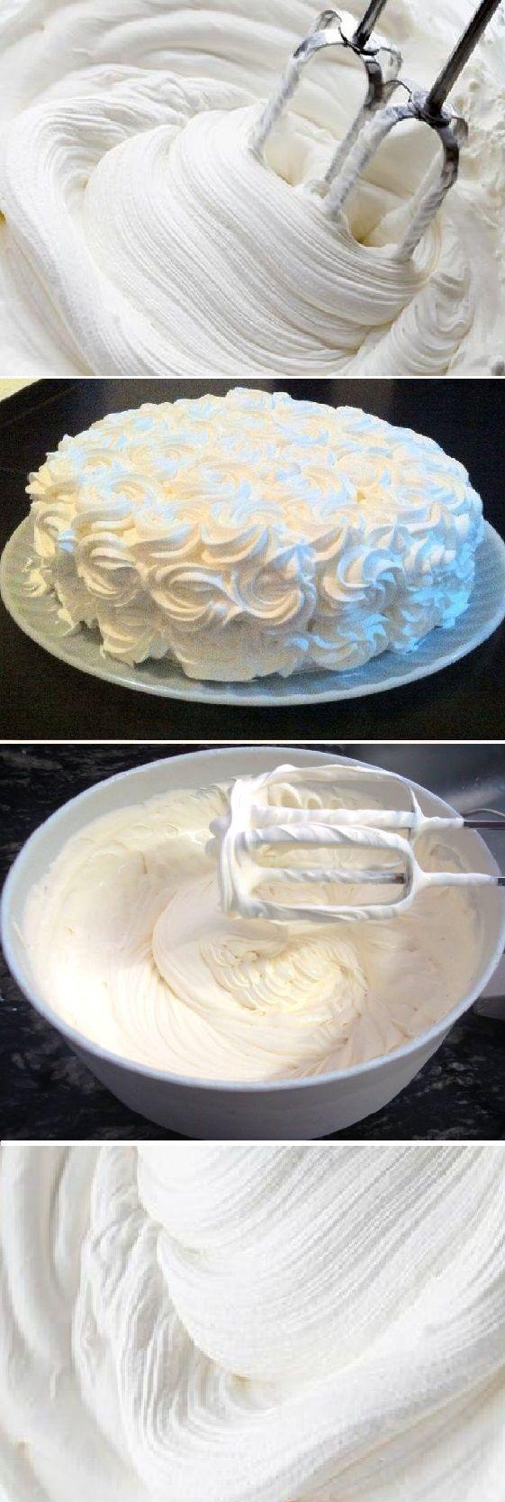 Cómo decorar con nata sin que se derrumbe.