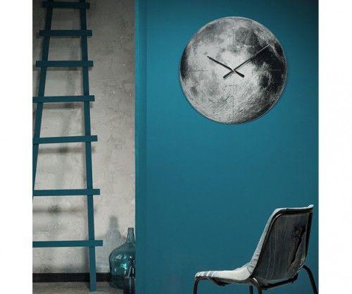 Reloj LUNA #Karlsson #relojes #watches #deco #moon #interiors Present Time