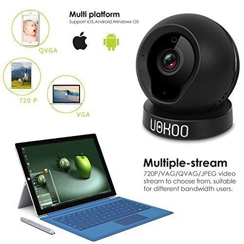 WiFi Wireless Security Camera 720P HD Baby Monitor Home Surveillance 2 Way Audio #WiFiWirelessSecurityCamera720PHD