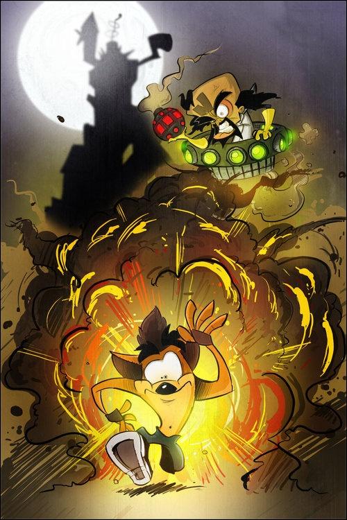 Crash Bandicoot The Coward?