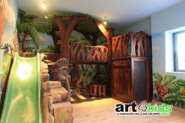 Habitaciones Temáticas - art4kids - Habitaciones temáticas para niñosart4kids – Habitaciones temáticas para niños