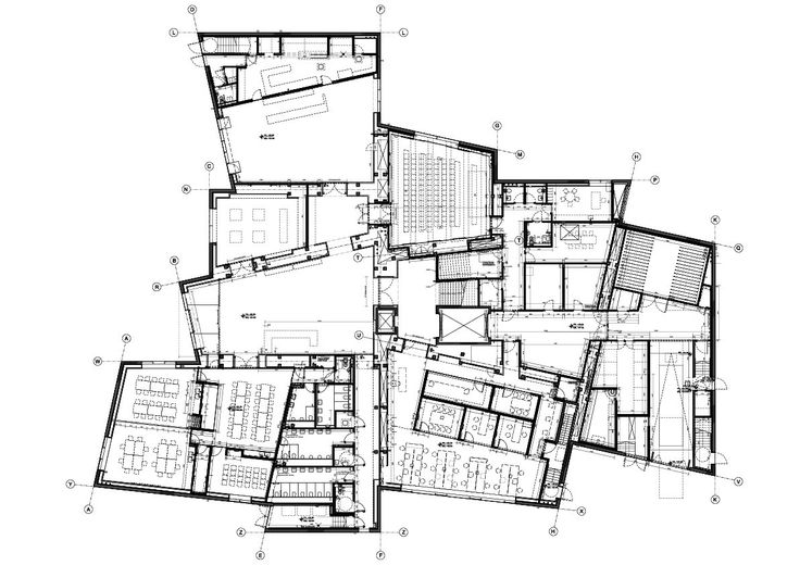 Plans of Architecture (David Chipperfield, The Hepworth Wakefield,...)