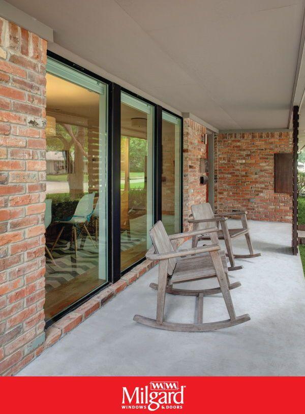 Porch Window Renovation In 2020 Modern Windows Aluminium Windows Window Renovation