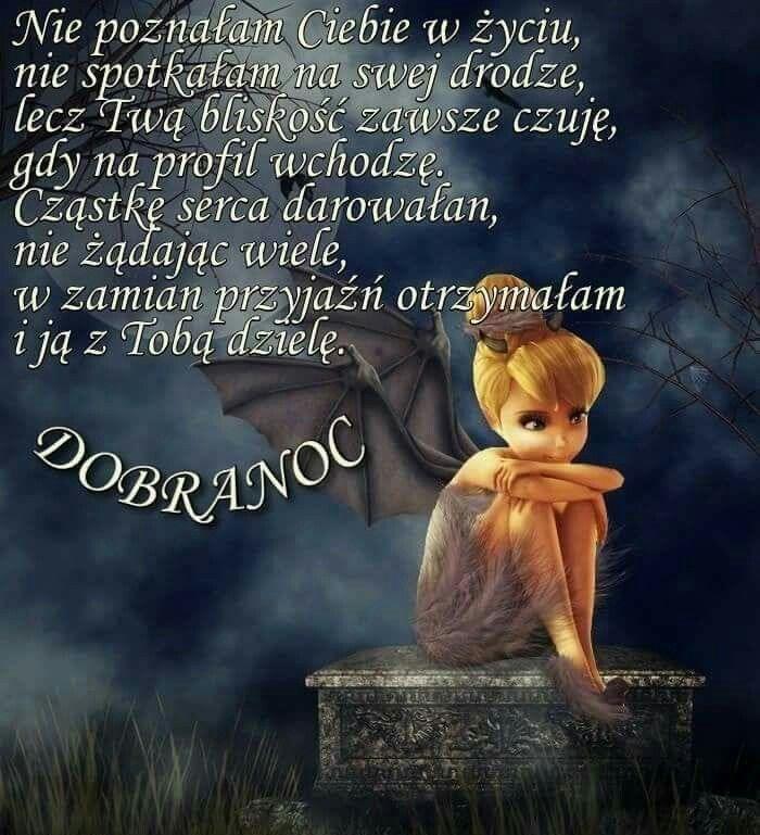 Pin By Wanda Swoboda On Dobranoc Dobranoc Plakat Wiersze