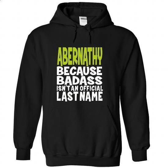 (BadAss) ABERNATHY - #tshirt summer #sweater shirt. CHECK PRICE => https://www.sunfrog.com/Names/BadAss-ABERNATHY-oljokfwybd-Black-43170569-Hoodie.html?68278