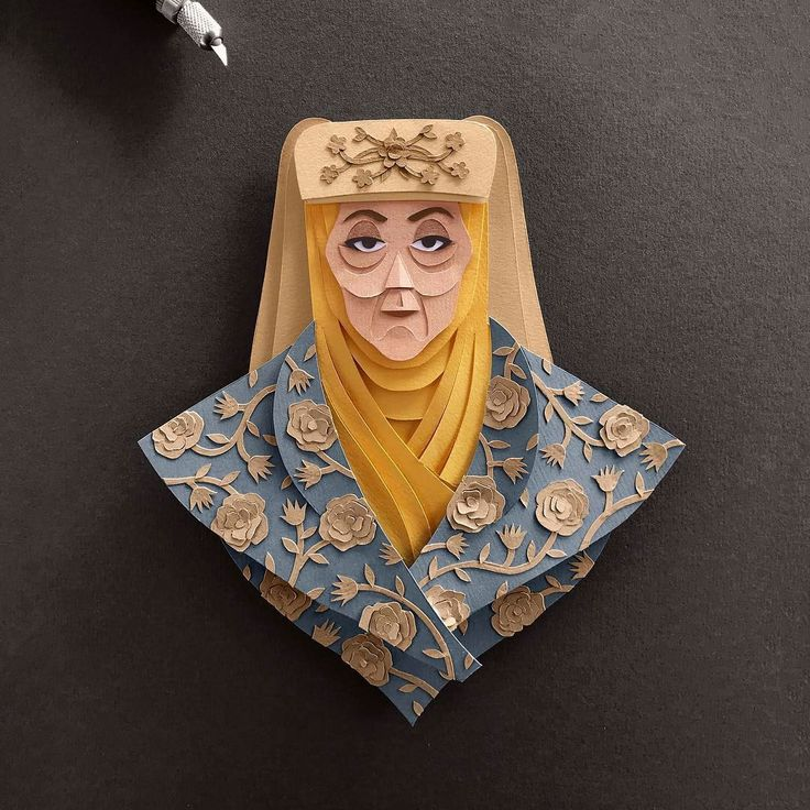 Amazingly Detailed Paper Cuts of Game of Thrones Characters – Fubiz Media