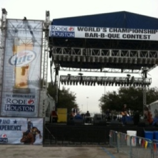 Houston Rodeo BBQ cook off