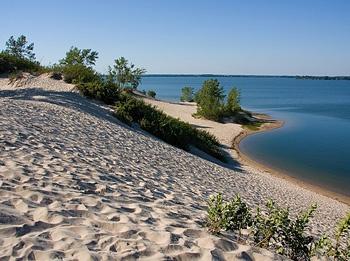 Sandbanks National Park, Lac Ontario