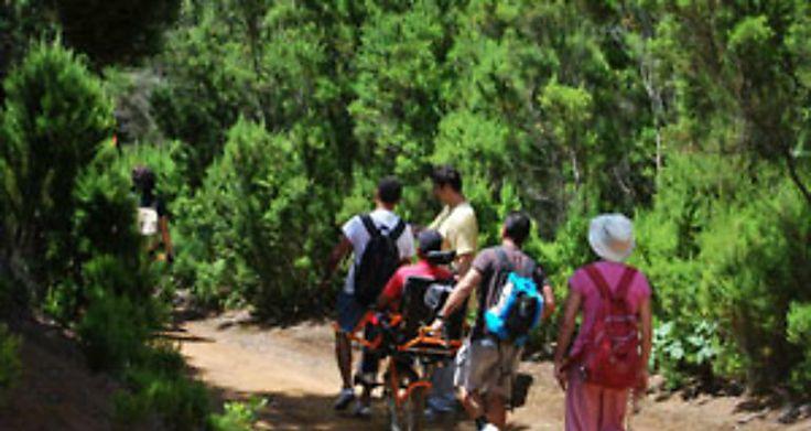 Fundación Global Nature lleva la joëlette a Monfragüe para innovar ...
