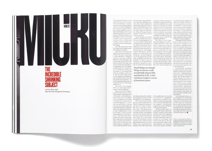 Matt Willey has established himself as one of the preeminent figures in modern editorial design.