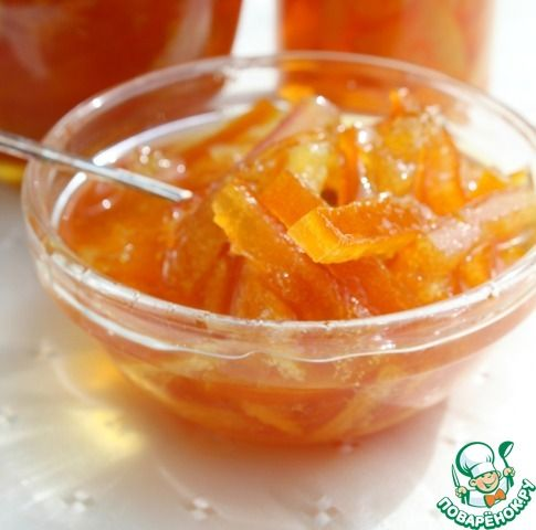 Самый апельсиновый конфитюр ингредиенты