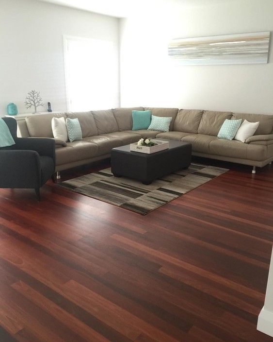 Modern Contemporary elegant Australian Hardwood flooring called Jarrah