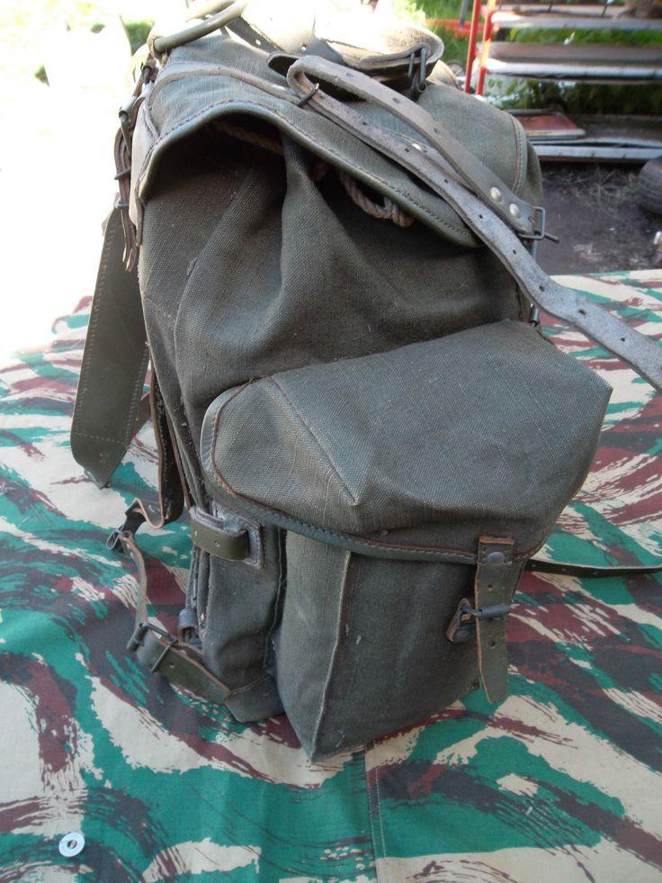 Sac à dos guerre d'Algérie daté de 1962 Backpack Algerian War 1962 in | eBay