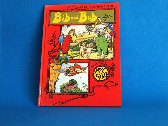 Bib and Bub Gumnut Babies Story Book  Vintage Retro by FunkyKoala