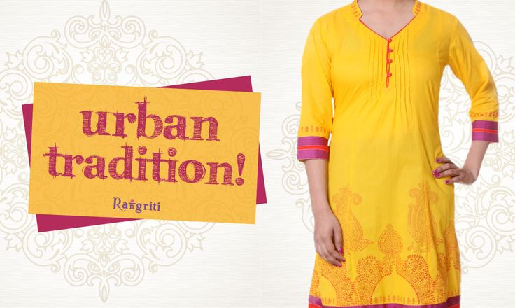 Redefine the urban tradition with chic and vibrant kurtas available on our website:www.rangriti.com  #follow #pretty #style #girls #awesome #amazing #bestoftheday #picoftheday #tagstofollow #fashion #fun #beautiful #girlsfashion #fashionhub