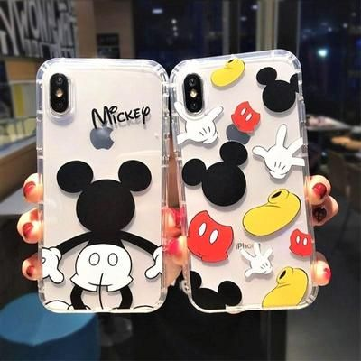 Klassische Mickey Mouse Clear Phone Case    – Pacific Bling | Disney & Kawaii Cases