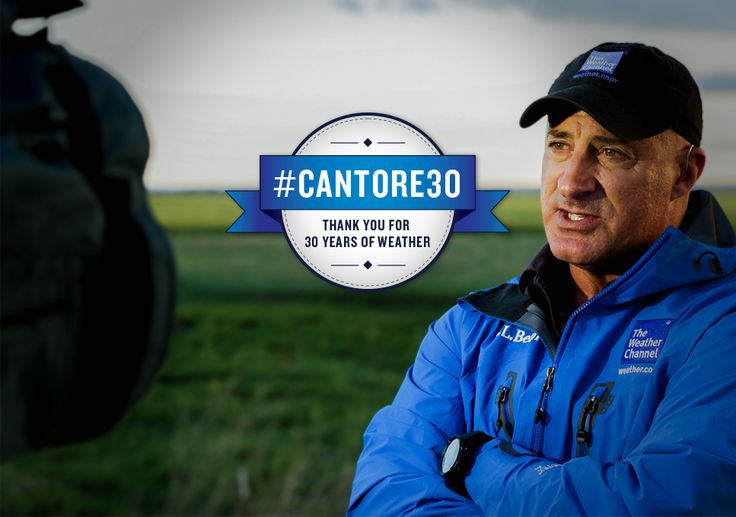 Jim Cantore Reflects on 30 Years at The Weather Channel July 2016