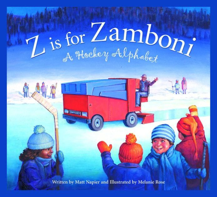 In the mold of our very popular series of state alphabet books, we offer Z is for Zamboni to hockey fans young and old across North America. Matt Napier's...
