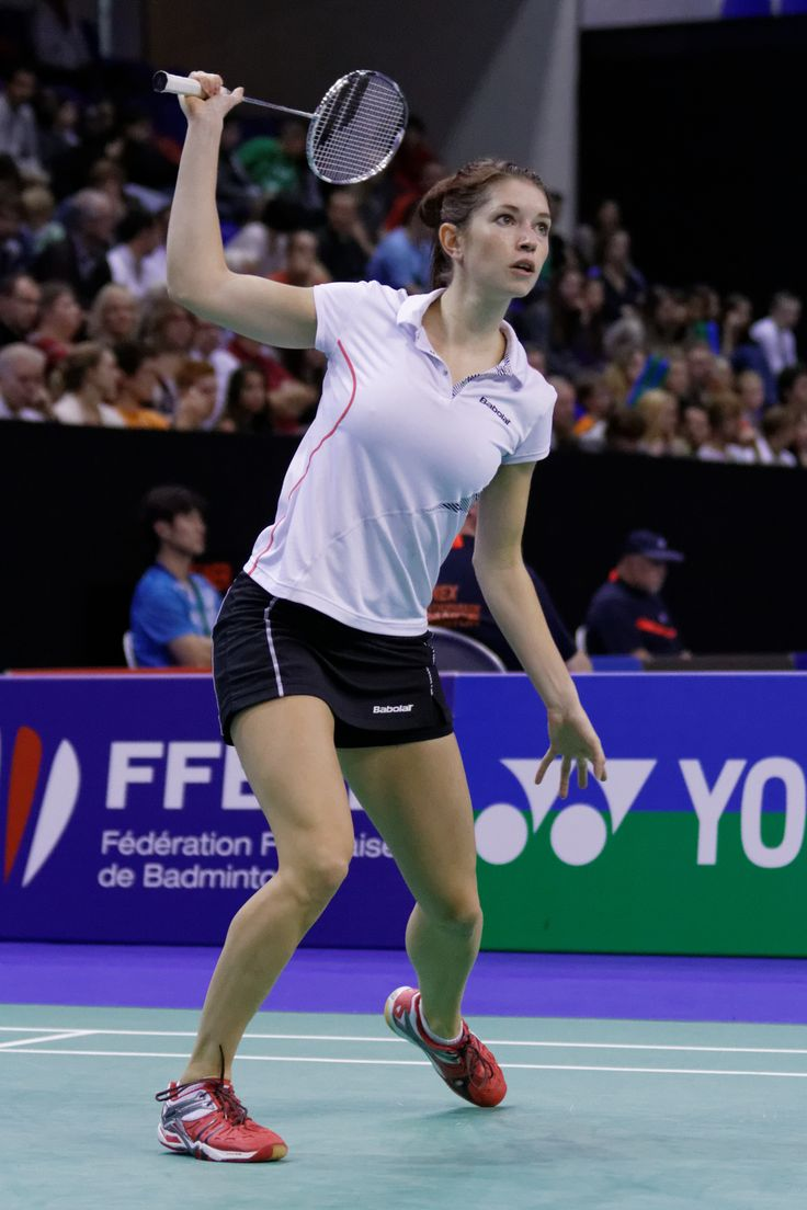 Heather Olver - Badminton. Women's Doubles.