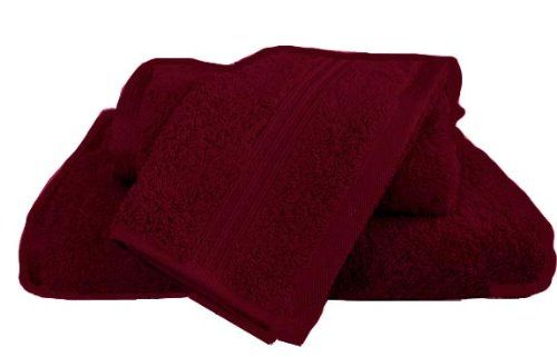 MARRIKAS Egyptian Cotton 2 Piece WASH CLOTH Set BURGUNDY. 2 Piece Wash Cloth Set Color BURGUNDY. Wonderfully soft and absorbent 100% Egyptian cotton in 600 gram weight. Egyptian cotton offers enhanced softness with each washing. (2) 13x13 wash cloths. Lovely braid detailing. Machine wash & dry. Color: Burgundy. Enhanced softness with each washing. 100% 600 gram Egyptian cotton. Coordinating separate pieces and bath sheets also available. 2 PC. set includes (2) 13x13 wash cloths.
