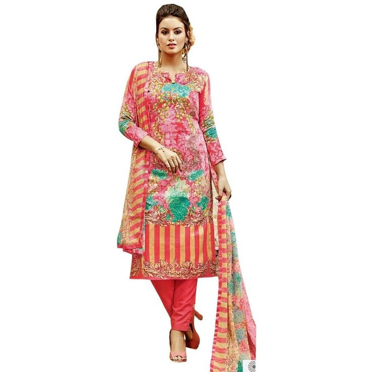 Gorgeous Printed Cotton Salwar Kameez Suit  #ShopNow #Designer #NewStuff #FreeShipping #SalwarSuit #SalwarKameez #LowestPrice #DressMaterial