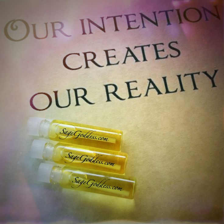 Intention Perfume Sample Trios