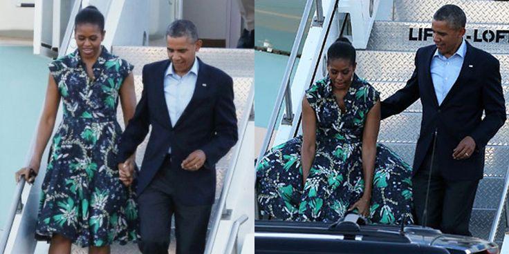 Το παρ' ολίγον ατύχημα της Μισέλ Ομπάμα με το φόρεμα που της το σήκωσε ο αέρας, ξανάφερε στην επικαιρότητα τους σχεδιαστές μόδας από την Ελλάδα που ντύνουν πρωτοκλασάτες πελάτισσες. Οι Έλληνες όταν…