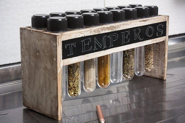 Porta Tempero Vintage Culture 16 tubetes