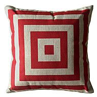 Red Square Box Decorative Pillow Cover – AUD $ 18.58