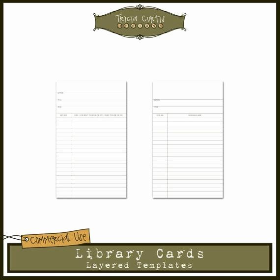 Library Card Invitations Template New Library Cards Mercial Use Layered Templa Invitation Template Printable Invitation Templates Free Printable Card Templates