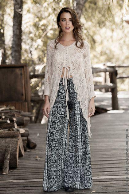 moda invierno looks sweet estilo boho y aires folks en ropa de mujer invierno