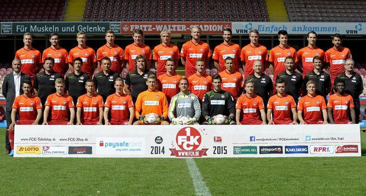 Mannschaftsfoto: 1. FC Kaiserslautern