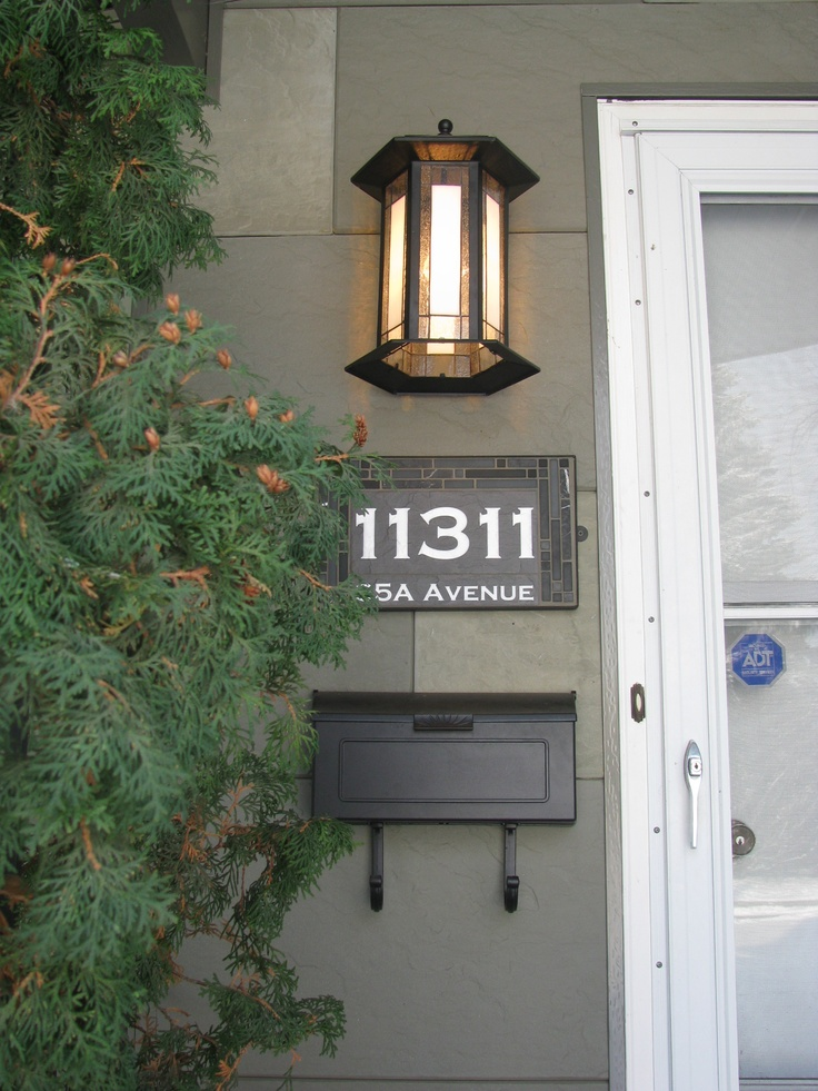 41 best house numbers images on pinterest house numbers for Front door number plaques