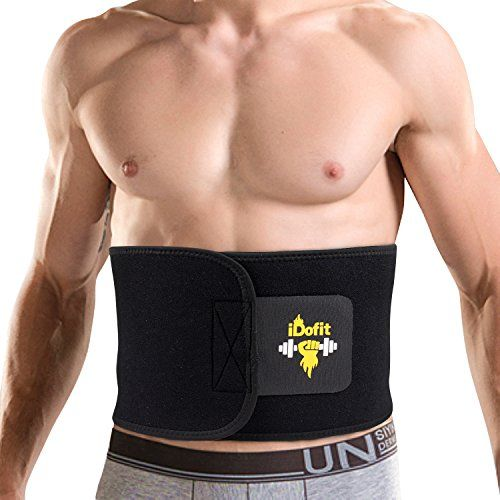 iDofit Neoprene Adjustable Waist Trimmer Ab Belt - Sauna Belt Weight Loss Band Slimming Stomach Wrap Belly Fat Burner Sweat Tummy Wraps Abdominal Slimmer Lumbar And Low Back Support For Men and Women.  Read the rest of this entry » http://www.fatlosscenter.info/weight-loss/idofit-neoprene-adjustable-waist-trimmer-ab-belt-sauna-belt-weight-loss-band-slimming-stomach-wrap-belly-fat-burner-sweat-tummy-wraps-abdominal-slimmer-lumbar-and-low-back-support-for-men-and-women/