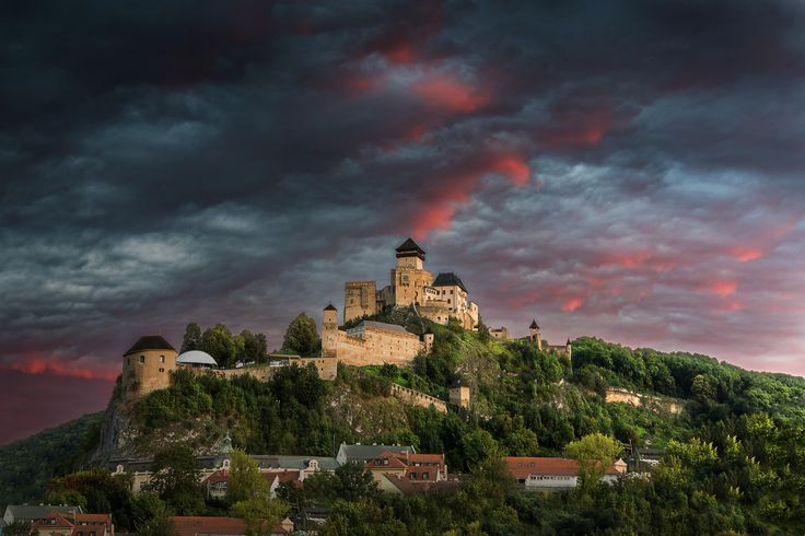Castle Trencin by Palino Balaj on 500px | Slovakia