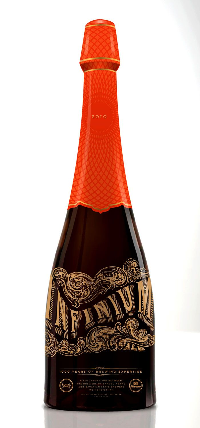 Adam & Co. For the beer lovers, a beer bottle that looks like champagne.