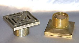 Drainage Products by Metabronze » Balcony & Multi Purpose Small Drain Square