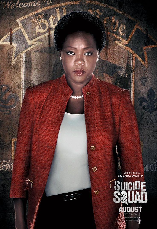 Viola Davis as Amanda Waller in Suicide Squad