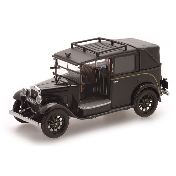 1:43 Scale  Austin Low Loader Taxi.The Austin marque was synonymous with London taxis since the end of the 1920's and introduced the new LL (Low Loader) model in 1934. An instant success, this handsome 1:43 Scale die-cast replica is finished in remarkable detail.