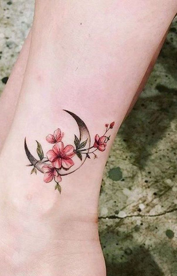 Five Fantastic Vacation Ideas For Flower Tattoo Ankle Designs Flower Tattoo Ankle Designs Tattoos Ankle Tattoo Violet Flower Tattoos