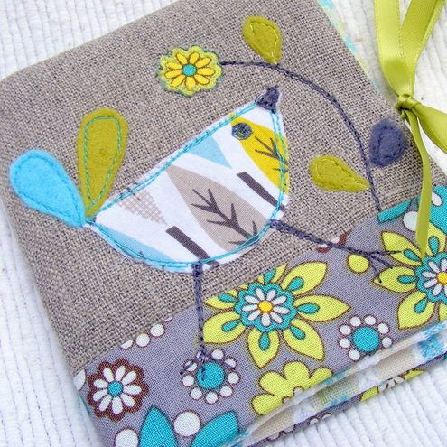 blue bird needle book