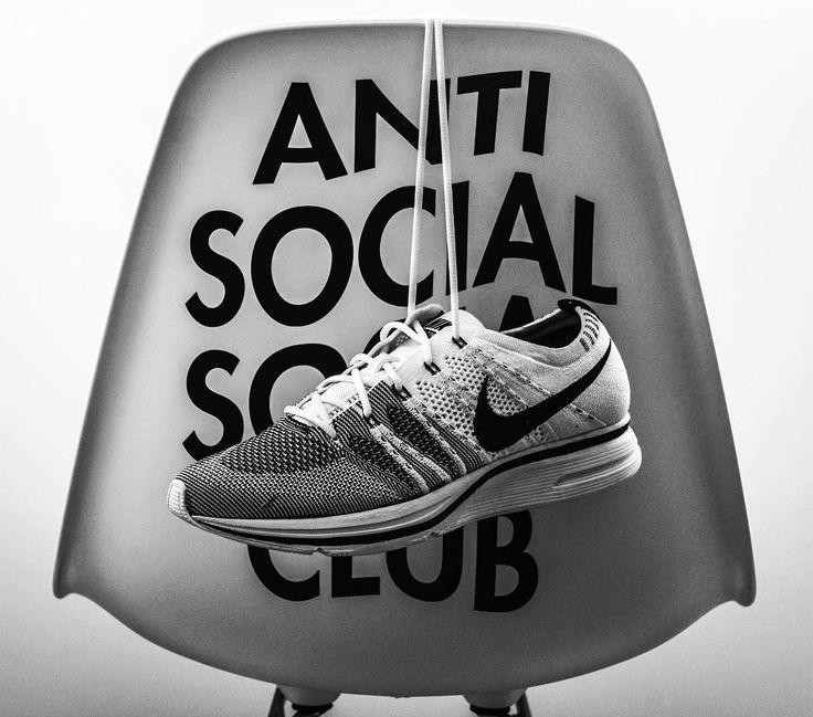 "363 Likes, 8 Comments - Nano Nanin (@nanonanin) on Instagram: ""The hype before the hype... ♠️ #hypebeast #hypebeastkicks #antisocialsocialclub #nike #nikeracer…"""