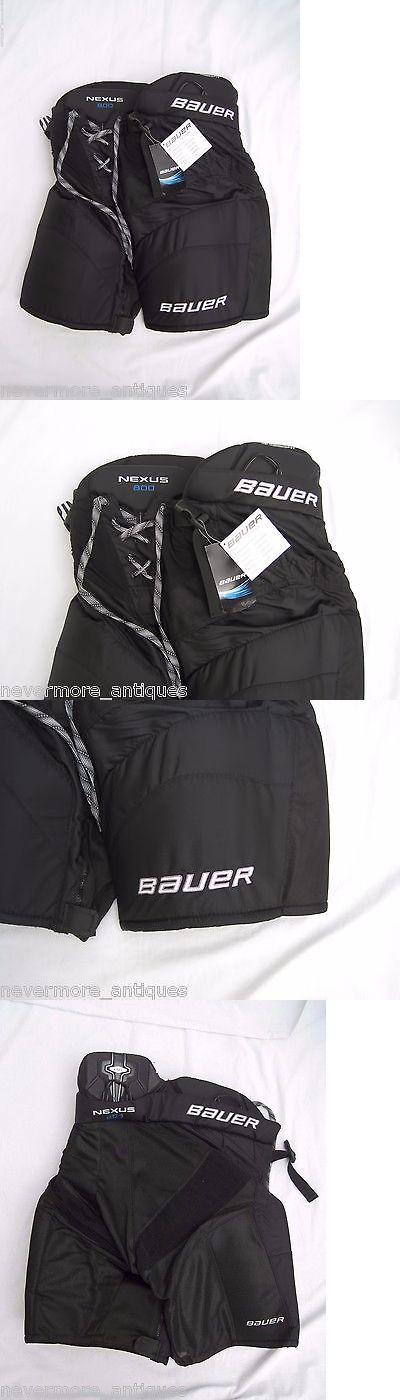 Women 159123: Nwt Bauer Nexus 800 Classic Fit Black Ice Hockey Pants Womens Size M 1041250 BUY IT NOW ONLY: $79.95