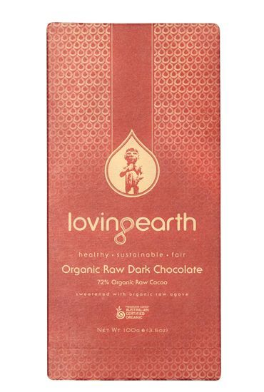 My new favourite treat that I am allowed to eat! | Loving Earth Dark Chocolate - Raw Organic #iqs